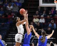 NCAA Women's Basketball Sweet Sixteen - #2 South Carolina 79 vs #11 Buffalo 63 (62)