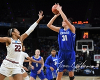 NCAA Women's Basketball Sweet Sixteen - #2 South Carolina 79 vs #11 Buffalo 63 (70)