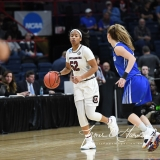 NCAA Women's Basketball Sweet Sixteen - #2 South Carolina 79 vs #11 Buffalo 63 (76)