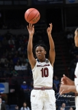 NCAA Women's Basketball Sweet Sixteen - #2 South Carolina 79 vs #11 Buffalo 63 (77)
