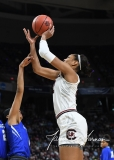 NCAA Women's Basketball Sweet Sixteen - #2 South Carolina 79 vs #11 Buffalo 63 (98)