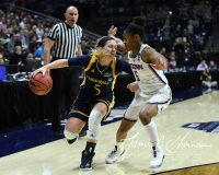 NCAA Women's Basketball Tournament 2nd Round - #1 UConn 71 vs. #9 Quinnipiac 46 (109)