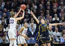 NCAA Women's Basketball Tournament 2nd Round - #1 UConn 71 vs. #9 Quinnipiac 46 (114)