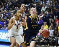 NCAA Women's Basketball Tournament 2nd Round - #1 UConn 71 vs. #9 Quinnipiac 46 (116)