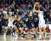 NCAA Women's Basketball Tournament 2nd Round - #1 UConn 71 vs. #9 Quinnipiac 46 (117)