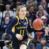 NCAA Women's Basketball Tournament 2nd Round - #1 UConn 71 vs. #9 Quinnipiac 46 (118)