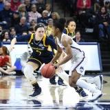 NCAA Women's Basketball Tournament 2nd Round - #1 UConn 71 vs. #9 Quinnipiac 46 (119)