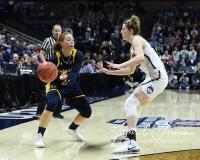 NCAA Women's Basketball Tournament 2nd Round - #1 UConn 71 vs. #9 Quinnipiac 46 (122)