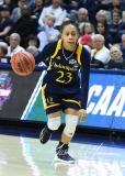 NCAA Women's Basketball Tournament 2nd Round - #1 UConn 71 vs. #9 Quinnipiac 46 (123)