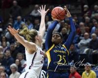NCAA Women's Basketball Tournament 2nd Round - #1 UConn 71 vs. #9 Quinnipiac 46 (124)