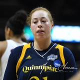 NCAA Women's Basketball Tournament 2nd Round - #1 UConn 71 vs. #9 Quinnipiac 46 (125)
