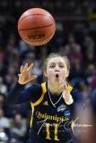 NCAA Women's Basketball Tournament 2nd Round - #1 UConn 71 vs. #9 Quinnipiac 46 (126)