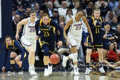 NCAA Women's Basketball Tournament 2nd Round - #1 UConn 71 vs. #9 Quinnipiac 46 (127)