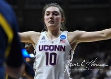 NCAA Women's Basketball Tournament 2nd Round - #1 UConn 71 vs. #9 Quinnipiac 46 (129)