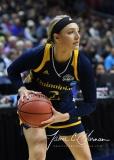 NCAA Women's Basketball Tournament 2nd Round - #1 UConn 71 vs. #9 Quinnipiac 46 (130)