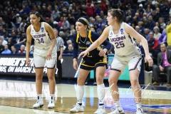 NCAA Women's Basketball Tournament 2nd Round - #1 UConn 71 vs. #9 Quinnipiac 46 (132)