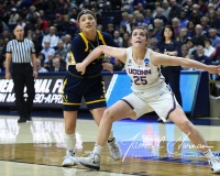 NCAA Women's Basketball Tournament 2nd Round - #1 UConn 71 vs. #9 Quinnipiac 46 (134)