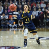 NCAA Women's Basketball Tournament 2nd Round - #1 UConn 71 vs. #9 Quinnipiac 46 (135)