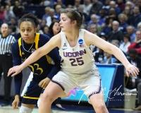 NCAA Women's Basketball Tournament 2nd Round - #1 UConn 71 vs. #9 Quinnipiac 46 (142)