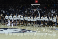 NCAA Women's Basketball Tournament 2nd Round - #1 UConn 71 vs. #9 Quinnipiac 46 (19)