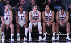 NCAA Women's Basketball Tournament 2nd Round - #1 UConn 71 vs. #9 Quinnipiac 46 (23)