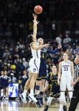 NCAA Women's Basketball Tournament 2nd Round - #1 UConn 71 vs. #9 Quinnipiac 46 (27)