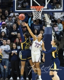 NCAA Women's Basketball Tournament 2nd Round - #1 UConn 71 vs. #9 Quinnipiac 46 (28)