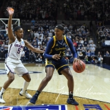 NCAA Women's Basketball Tournament 2nd Round - #1 UConn 71 vs. #9 Quinnipiac 46 (37)