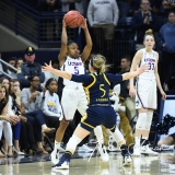 NCAA Women's Basketball Tournament 2nd Round - #1 UConn 71 vs. #9 Quinnipiac 46 (42)