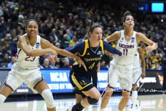 NCAA Women's Basketball Tournament 2nd Round - #1 UConn 71 vs. #9 Quinnipiac 46 (46)