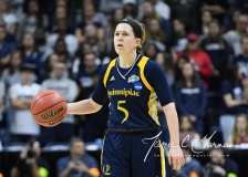 NCAA Women's Basketball Tournament 2nd Round - #1 UConn 71 vs. #9 Quinnipiac 46 (49)