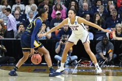 NCAA Women's Basketball Tournament 2nd Round - #1 UConn 71 vs. #9 Quinnipiac 46 (55)