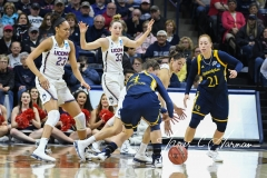 NCAA Women's Basketball Tournament 2nd Round - #1 UConn 71 vs. #9 Quinnipiac 46 (56)