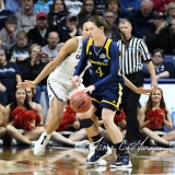 NCAA Women's Basketball Tournament 2nd Round - #1 UConn 71 vs. #9 Quinnipiac 46 (58)