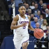 NCAA Women's Basketball Tournament 2nd Round - #1 UConn 71 vs. #9 Quinnipiac 46 (59)