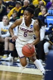 NCAA Women's Basketball Tournament 2nd Round - #1 UConn 71 vs. #9 Quinnipiac 46 (61)