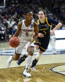 NCAA Women's Basketball Tournament 2nd Round - #1 UConn 71 vs. #9 Quinnipiac 46 (64)
