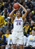 NCAA Women's Basketball Tournament 2nd Round - #1 UConn 71 vs. #9 Quinnipiac 46 (66)