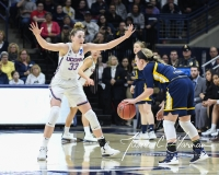 NCAA Women's Basketball Tournament 2nd Round - #1 UConn 71 vs. #9 Quinnipiac 46 (67)
