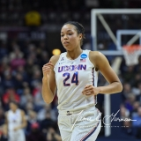 NCAA Women's Basketball Tournament 2nd Round - #1 UConn 71 vs. #9 Quinnipiac 46 (71)