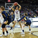 NCAA Women's Basketball Tournament 2nd Round - #1 UConn 71 vs. #9 Quinnipiac 46 (72)