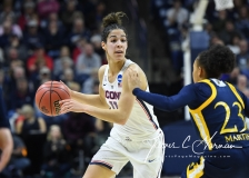 NCAA Women's Basketball Tournament 2nd Round - #1 UConn 71 vs. #9 Quinnipiac 46 (74)
