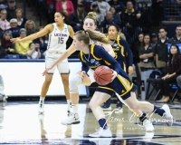 NCAA Women's Basketball Tournament 2nd Round - #1 UConn 71 vs. #9 Quinnipiac 46 (75)