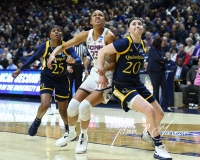 NCAA Women's Basketball Tournament 2nd Round - #1 UConn 71 vs. #9 Quinnipiac 46 (77)
