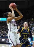 NCAA Women's Basketball Tournament 2nd Round - #1 UConn 71 vs. #9 Quinnipiac 46 (79)