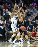 NCAA Women's Basketball Tournament 2nd Round - #1 UConn 71 vs. #9 Quinnipiac 46 (80)