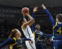 NCAA Women's Basketball Tournament 2nd Round - #1 UConn 71 vs. #9 Quinnipiac 46 (81)