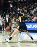 NCAA Women's Basketball Tournament 2nd Round - #1 UConn 71 vs. #9 Quinnipiac 46 (85)