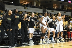 NCAA Womens Basketball - UCF 76 vs. Temple 46 (48)