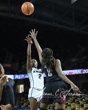 NCAA Womens Basketball - UCF 76 vs. Temple 46 (93)